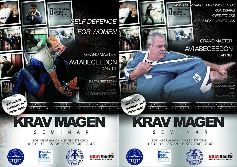 סמינר קרב מגן בטורקיה 14.1.17 Krav Magen Seminar in Turkey